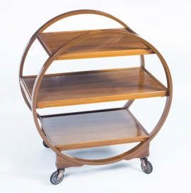 06550-Antique-Art-Deco-Walnut-Serving-Trolley-c.1920-1