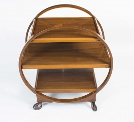 06550-Antique-Art-Deco-Walnut-Serving-Trolley-c.1920-4