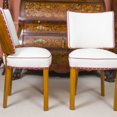 06769a-Antique-Art-Deco-Walnut-Rosewood-Dining-Table-6-Chairs-18