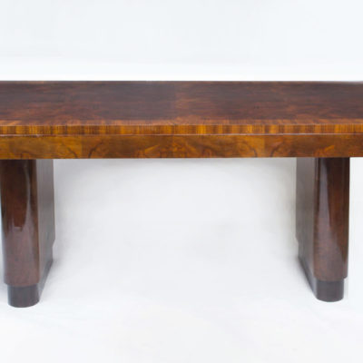 06769a-Antique-Art-Deco-Walnut-Rosewood-Dining-Table-6-Chairs-2