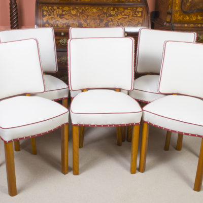 06769a-Antique-Art-Deco-Walnut-Rosewood-Dining-Table-6-Chairs-20