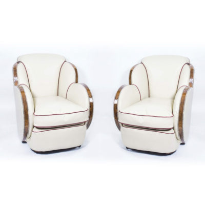 06542-Antique-Pair-White-Leather-Art-Deco-Cloud-Armchairs-c.1930-1