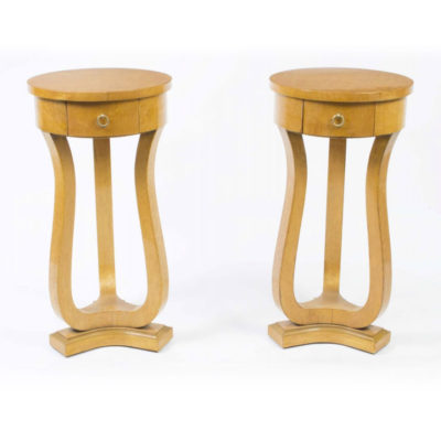 00851-Pair-of-Biedermeier-Style-Satin-Birch-Bedside-Cabinets-1