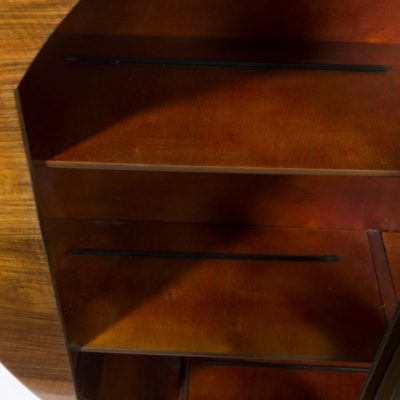 06908-Antique-Art-Deco-Figured-Walnut-Display-Cabinet-c.1930-7