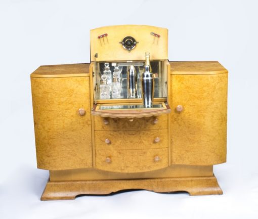 07626b-Antique-Art-Deco-Birdseye-Maple-Cocktail-Sideboard-c.1930-3