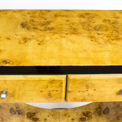02010-Chic-Art-Deco-Birdseye-Maple-Console-Side-Table-3