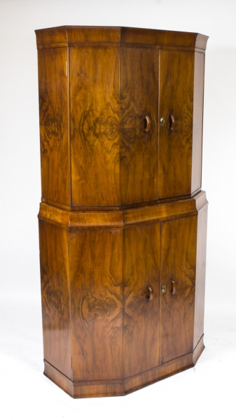 Antique Art Deco Cocktail Cabinet c.1925