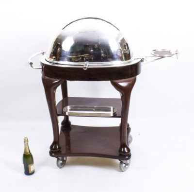 Art Deco Drakes Carving Trolley