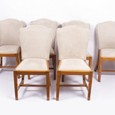 Antique Art Deco Dining Chairs