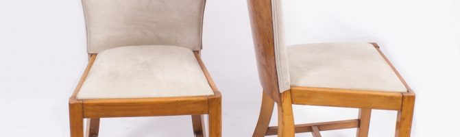 Art Deco Chairs Epstein