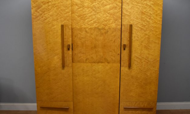 Art Deco Wardrobe – Epstein